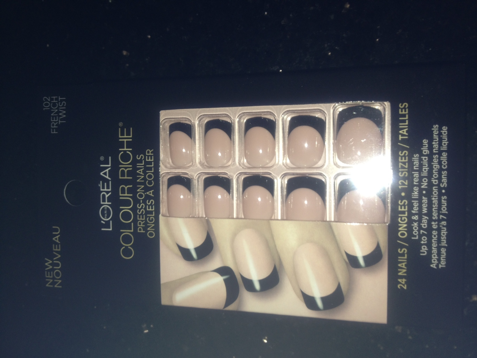 L\'Oreal Paris Colour Riche press on nails-not your average press on ...