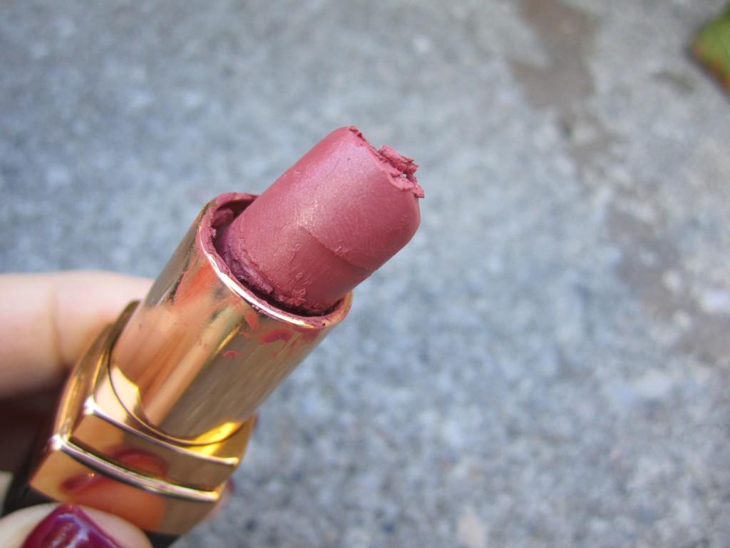my poor poor Mademoiselle lipstick....