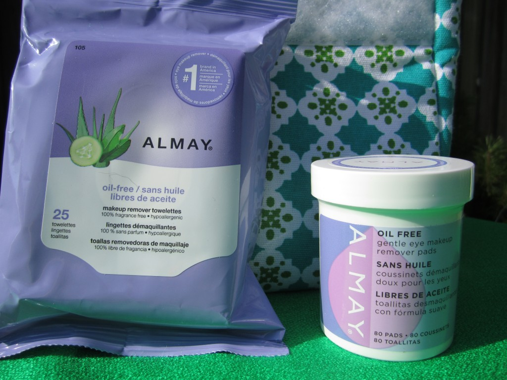 Makeup removers from Almay