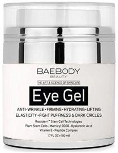 Best eye creams: Baebody Eye Gel for Dark Circles, Puffiness, Wrinkles and Bags