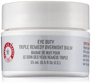 Best eye creams: First Aid Beauty Eye Duty Triple Remedy Overnight Balm