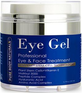 Best eye creams: Pure Body Naturals Eye Cream for Dark Circles Puffiness Wrinkles and Bags
