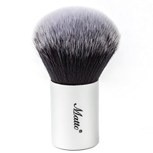 Best Bronzer: Matto Kabuki Brush for Powder Mineral Foundation Blending Blush Buffing Makeup Brush